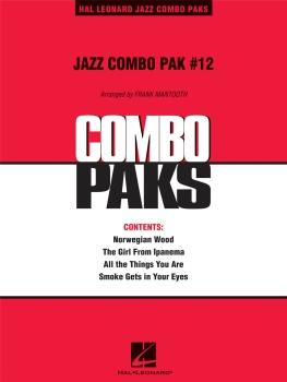 Jazz Combo Pak #12 - Score Only