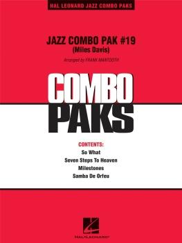 Jazz Combo Pak #19  - Score Only