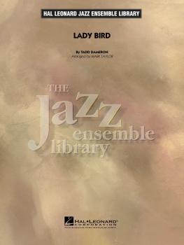 Lady Bird - Score Only