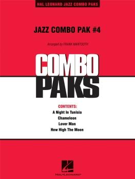 Jazz Combo Pak #4 - Score Only