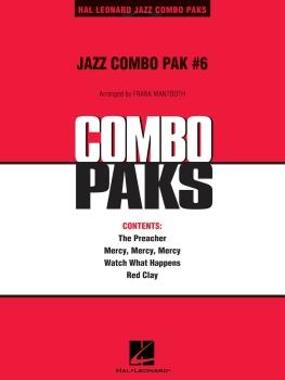 Jazz Combo Pak #6 - Score Only