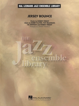 Jersey Bounce - Score Only