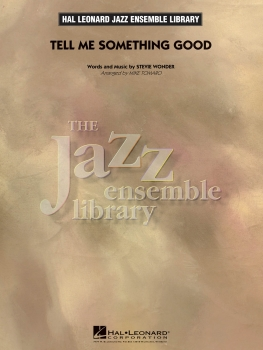 Tell Me Something Good - Score Only