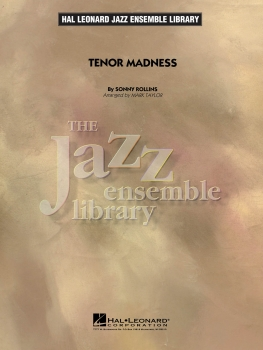 Tenor Madness - Score Only