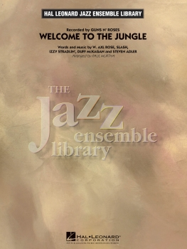 Welcome to the Jungle - Score Only