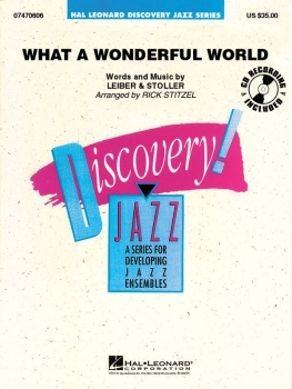 What a Wonderful World - Score Only