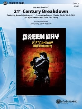 21st Century Breakdown, Suite from Green Day's - Set (Score & Parts)