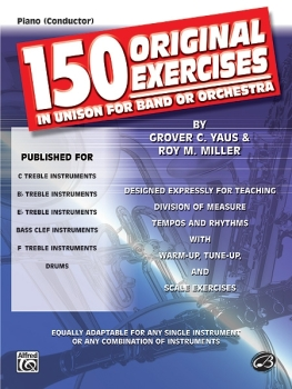 150 Original Exercises in Unison for Band or Orch. - Score Only