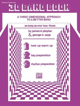 3-D Band Book (Baritone TC) - Part