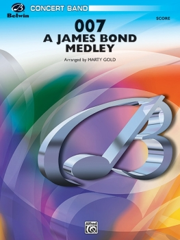 007 - A James Bond Medley - Score Only