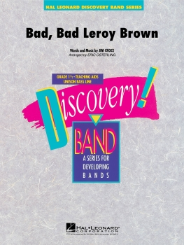 Bad, Bad Leroy Brown - Set (Score & Parts)