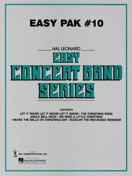 Hal Leonard Easy Concert Band Paks - Pak 10 - Set (Score & Parts)