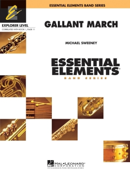 Gallant March - Score Only