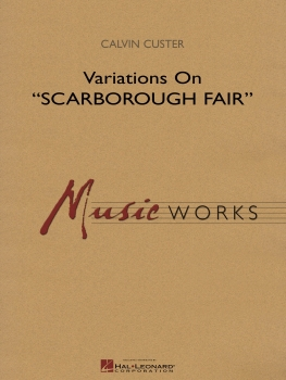 Variations On Scarborough Fair - Score Only