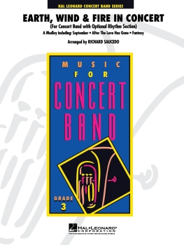 Earth, Wind & Fire in Concert - Set (Score & Parts)