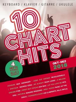 10 Charthits - Oktober bis Dezember 2018