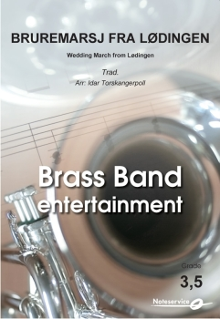 Bruremarsj fra Lødingen  --  -- Brass Band - Set (Score & Parts)