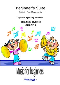 Beginner's Suite  --  -- Brass Band - Set (Score & Parts)