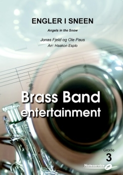 Angels in the snow  --  -- Brass Band - Set (Score & Parts)