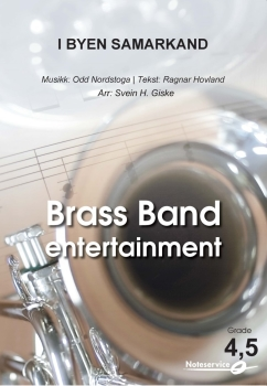 I Byen Samarkand  --  -- Brass Band - Set (Score & Parts)