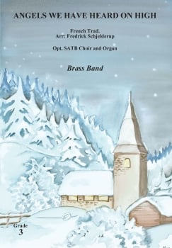 Angels We Have Heard on High  --  -- Brass Band - Set (Score & Parts)