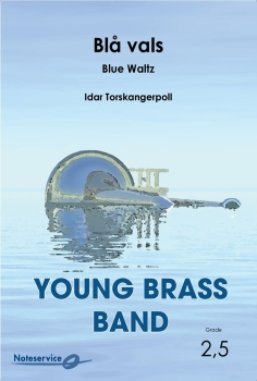 Blå vals  --  -- Brass Band - Set (Score & Parts)