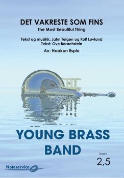 Det vakreste som fins  --  -- Brass Band - Set (Score & Parts)
