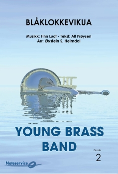 Blåklokkevikua  --  -- Brass Band - Set (Score & Parts)