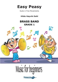 Easy Peasy  --  -- Brass Band - Set (Score & Parts)