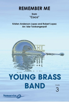 Remember Me from Coco  --  -- Brass Band - Set (Score & Parts)