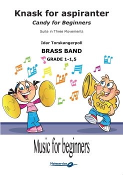 Knask for aspiranter - Suite in Three Movements  --  -- Brass Band - Set (Score & Parts)