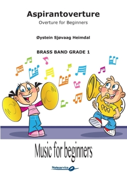 Aspirantoverture  --  -- Brass Band - Set (Score & Parts)