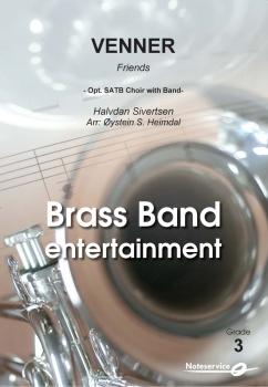Venner  --  -- Brass Band - Set (Score & Parts)