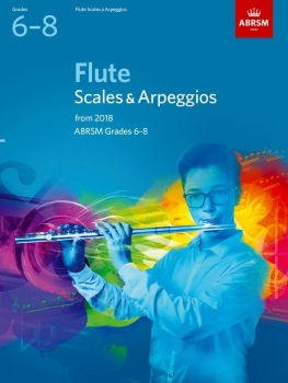 Flute Scales & Arpeggios Grades 6-8 - Book Only