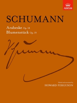 Arabeske Op.18 / Blumenstuck Op.19 - Book Only