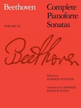 Complete Pianoforte Sonatas - Volume III - Book Only