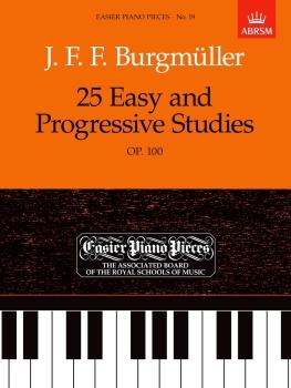 Burgmüller: 25 Easy and Progressive Studies Op.100 - Book Only