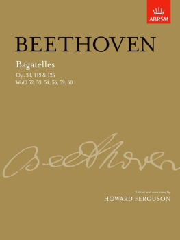 Bagatelles For Piano - Book Only