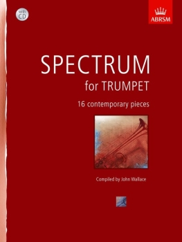 Spectrum For Trumpet (Book/CD) - Book with CD