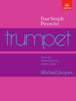 Four Simple Pieces for Trumpet - Book Only