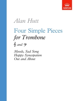Four Simple Pieces for Trombone - Book Only
