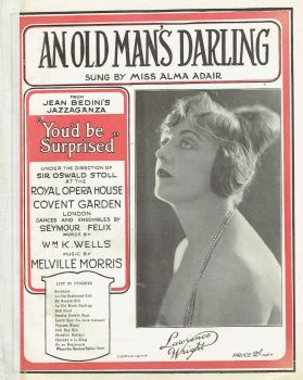 An Old Man's Darling - Preloved Sheet Music
