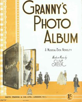 Granny's Photo Album - Preloved Sheet Music