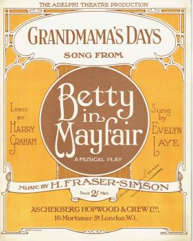 Grandmama's Days - Preloved Sheet Music