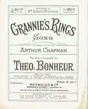 Grannie's Rings - Preloved Sheet Music
