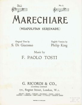 Marechiare - Preloved Sheet Music
