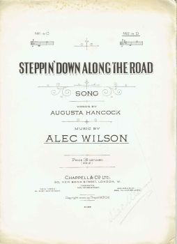 Steppin' Down Along The Road - Preloved Sheet Music