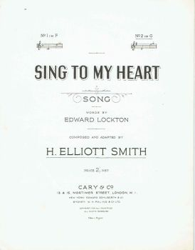 Sing To My Heart - Preloved Sheet Music
