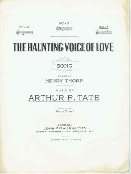 The Haunting Voice Of Love - Preloved Sheet Music