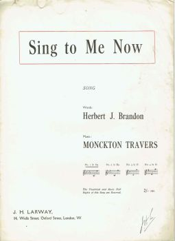 Sing To Me Now - Preloved Sheet Music